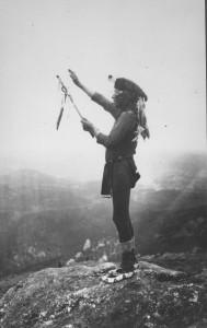 Black-Elk-on- Harney Peak-1931