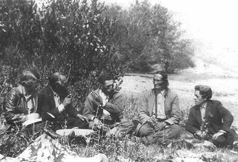 Neihardt interviews Black Elk