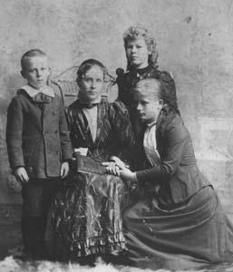 john, sisters & mother