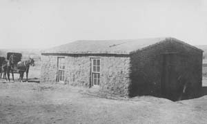 1886 Kansas sod house