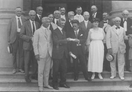 1921 Nebraska State Legislature awards Poet Laureate