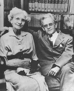 1958 Mona & John Neihardt